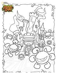 Animal Jam Coloring Pages Free Printable