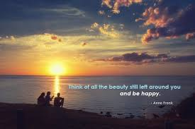 The Beauty Of Sunset Quotes Best of ANNE FRANK QUOTES 24 Beautiful Lines From This Inspirational