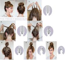 Hairstyle Yourself diy french braid bun hairstyle do it yourself fashion tips diy 8273 by stevesalt.us