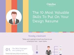 Creative Market The 10 Most Valuable Skills To Put On Your Design