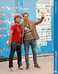 Sydney Sibilia And Paolo Calabresi At Giffoni Film Festival 2014 .  Editorial Stock Photo - Image of event, sydney: 183552783