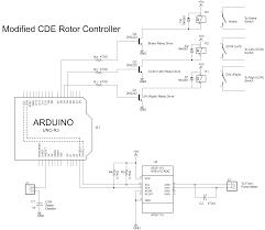 cde rotator control wiring diagram motorcycle schematic images of cde rotator control wiring diagram modified cde rotor controller schematic corrected cde