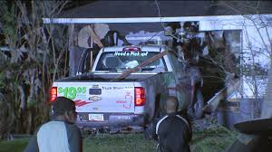 U-Haul pickup crashes into home where father and his baby were ...