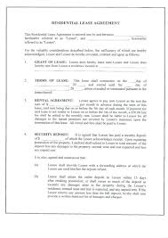 3 Printable Lease Form Free Rental Agreement Forms Sample ...