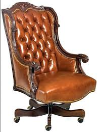 beautiful office chairs. Non Rolling Desk Chair Tufted Beautiful Office Chairs Caramel Leather .