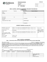 Cotation Sample Pest Control Quotation Format Pdf Fill Online Printable Fillable