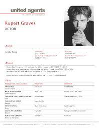 Actor Resume Template Word Resume Online Builder