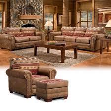 southwestern living room furniture. sierra mountain lodge fourpiece group with sofa sleeper southwestern living room furniture