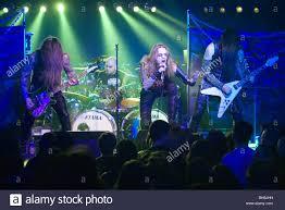 Budapest Januar 18 Schweden Death Metal Band Namens Necrophobic