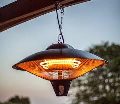 hanging patio heater. La Hacienda Hanging 2100w Patio Heater E