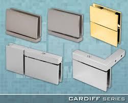 cardiff series frameless shower door