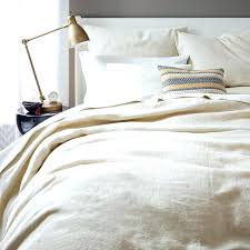 king size duvet cover with zipper closure belgian linen duvet cover twin natural flaxduvet with ties