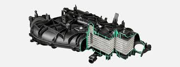 Engine Intake Manifold Design Intake Manifolds With Fully Integrated Cooler Mann Hummel