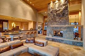 2 Sided Fireplace Double Sided Fireplace Designs For Your Living Room
