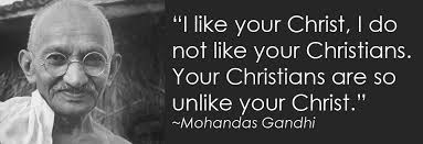 Ghandi Quote Christians