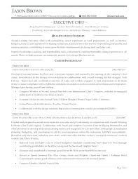 Executive Chef Resume Unique Banquet Chef Resume Interesting Banquet Chef Resume Sample Best Of