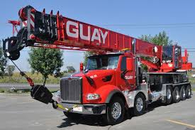 Guay Commissions New Terex Crossover 8000 Boom Truck Crane