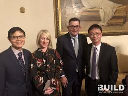 Daniel andrews, son of thomas, of watertown, was a schoolmaster in. Ibuild Directors Jackson Yin And Michael Zeng With Victoria Premier Daniel Andrews And Wife Catherine Andrews Ibuild Kit Homes Granny Flats And Modular Homes