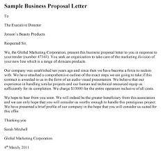 sample business proposal sample business proposal letter