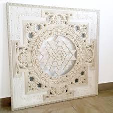 sri yantra mandala sacred geometry spiritual wall art