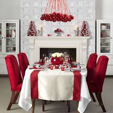 red christmas table decorations. Beautiful Christmas Table Decorations Red A