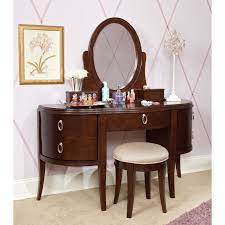 Glamour Girl Vogue Bedroom Vanity And Wall Style  Interior Furniture Design Ideas