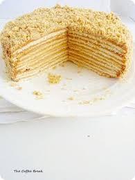 Medovik Russian Honey Cake Sweet Moments Pinterest