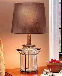country style table lamps living room lovely jar table lamp vintage country decor glass