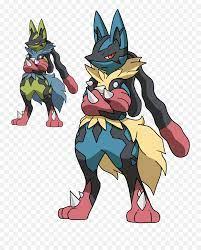Clip Art Of Mega Lucario Pokémon Free Image - Pokemon Mega Lucario png -  free transparent png images - pngaaa.com