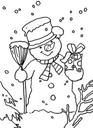 Small Picture 72 best iColor Snowmen images on Pinterest Coloring Snowmen