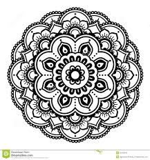 Henna Pattern Magnificent Indian Henna Tattoo Pattern Or Background Mehndi Design