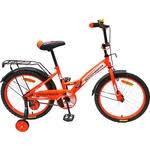 Купить <b>Велосипед AVENGER</b> 16 <b>NEW</b> STAR, оранжевый/черный ...