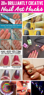 20+ Brilliantly Creative Nail Art Hacks That Are Pure Genius ...