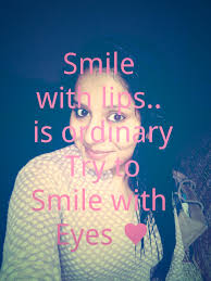 Beautiful Quotes On Eyes And Smile