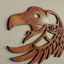 laser cut wall art wall decor native american indian inspired