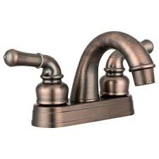rv sink faucet 2 handle classical arc spout bathroom faucet in oil rubbed rv sink faucet