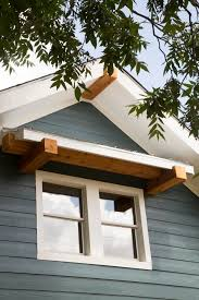 modern window awning