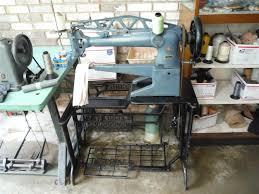 image singer long arm 29k73 shoe patching leather sewing machine 943808