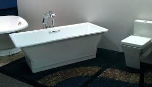 kohler villager alcove bathtub with integral a and left hand drain in kohler villager cast iron