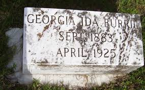 Georgia Ida Ford Burril (1881-1925) - Find A Grave Memorial