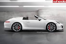 2018 porsche speedster. simple speedster 2018 porsche 911 speedster expected at frankfurt and porsche speedster wheels magazine