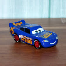 disney pixar cars 3 blue lightning mcqueen vehicle 1 55 cast metal alloy toys model car birthday gift for kids in casts toy vehicles from toys