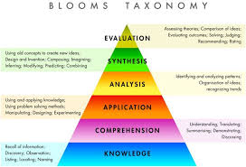 A Longer Piece On The Taxonomy Of Bloom From Experience To Meaning