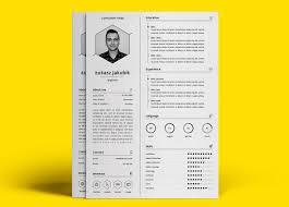 Free Minimal Resume Template Download Resumekraft