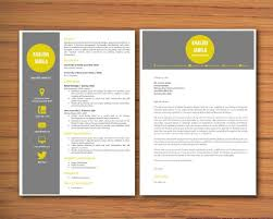 Modern Cover Letters Modern Microsoft Word Resume And Cover Letter Template