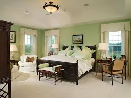 Paint Colors For Bedrooms Refinish Bedroom Interior With Light Green Painting Combined With