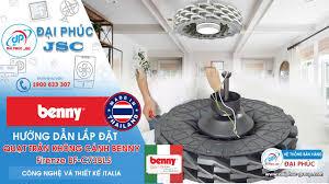 Lắp Đặt Quạt trần Benny FIRENZE BF-C73BLS - Công nghệ Ý - SX tại Thái Lan -  YouTube