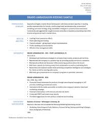 Promo Model Resume Sample Resume And Cover Letter Resume And