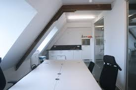 beautiful bright office. beautiful and bright office on top floor building