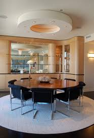 how to place a rug with round dining table in room rugs remodel 15